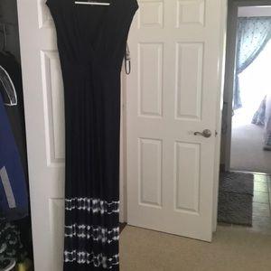 Inc dress tie-dye on bottom size s